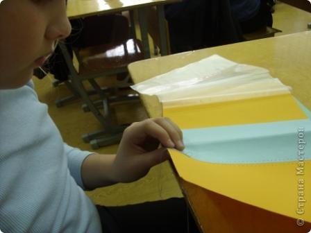 Полина выполнила обложку для тетради по технологии.  фото 2