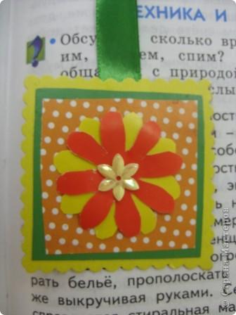 квадратная закладочка фото 1