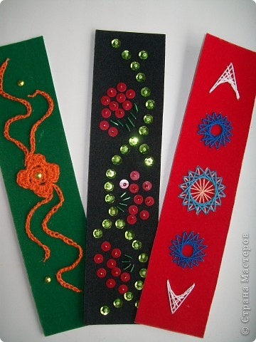 Эти закладки прилагаются к обложке http://stranamasterov.ru/node/251776 и соответствуют разным видам рукоделия фото 1