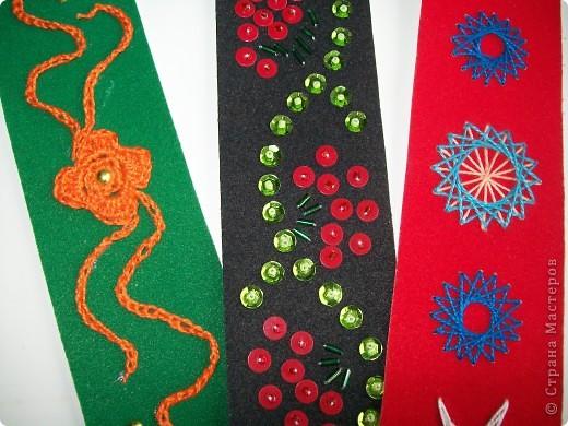 Эти закладки прилагаются к обложке http://stranamasterov.ru/node/251776 и соответствуют разным видам рукоделия фото 2