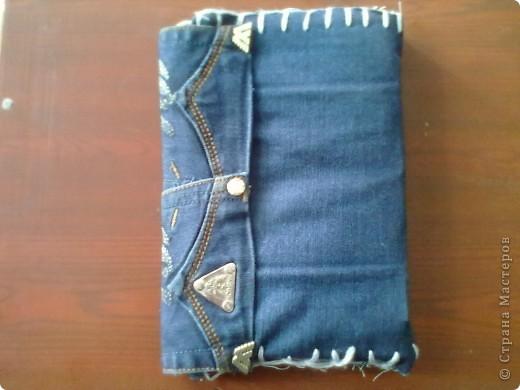 Тетрадь в джинсовой обложке фото 4