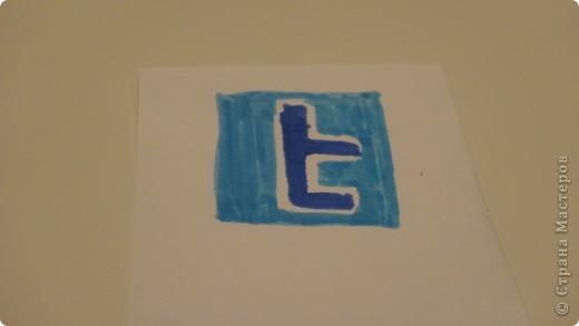 """я сделала закладочки на тему """"социальные сети"""" . фото 4"""