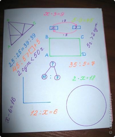 Обложка для тетради по математике фото 3