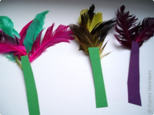 Закладки с перьями фото 2