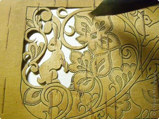 Пенал,украшенный берестой. фото 6
