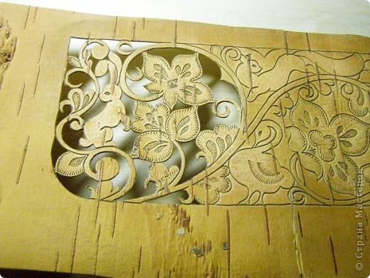 Пенал,украшенный берестой. фото 7