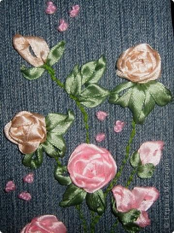 Такой пенальчик с букетиком полиантовых роз сотворился сегодня ночью. фото 5