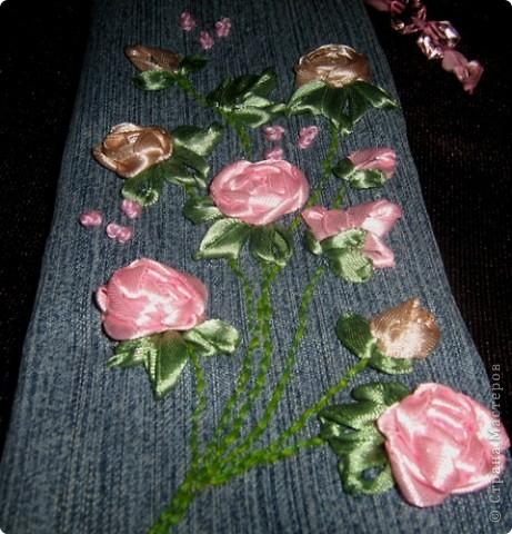 Такой пенальчик с букетиком полиантовых роз сотворился сегодня ночью. фото 3