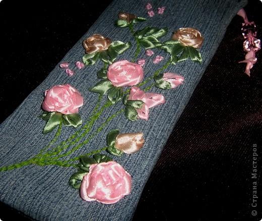 Такой пенальчик с букетиком полиантовых роз сотворился сегодня ночью. фото 6