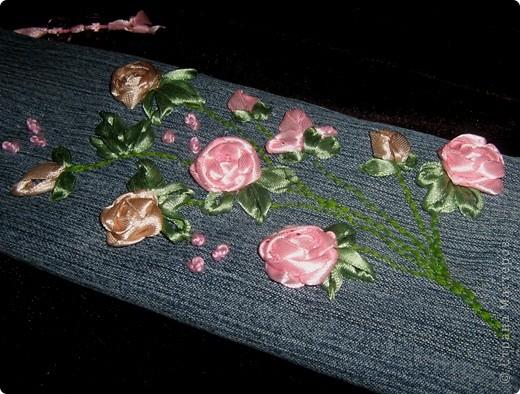 Такой пенальчик с букетиком полиантовых роз сотворился сегодня ночью. фото 7