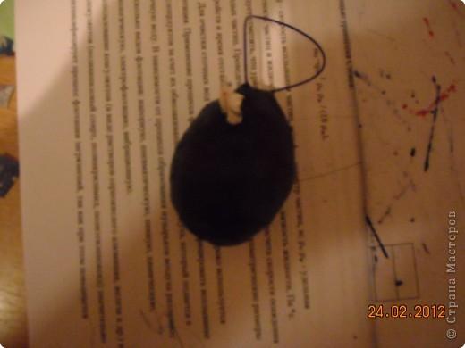 Вот такое красивое яйцо я сделала в технике торцевание. фото 3