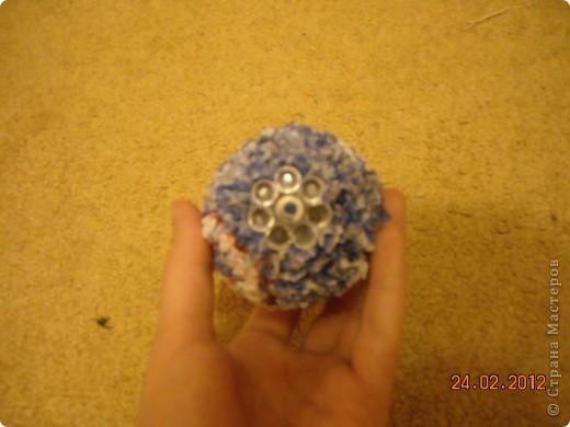 Вот такое красивое яйцо я сделала в технике торцевание. фото 8