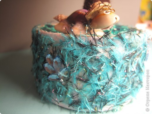 Помпонное  дерево и черепашка-мыслитель.  фото 7