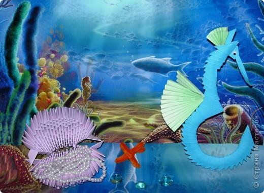 Я участвую первый раз и мне выпала дата 7 июня.Я решил сделать морское дно. Т.к. Океания - это очень красивый подводный мир. фото 1