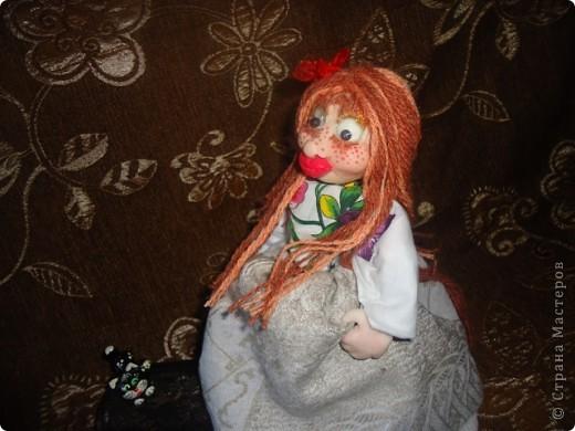 кукла веснушка-домовушка! хи-хи-хи вот такая я чудная)))) фото 3