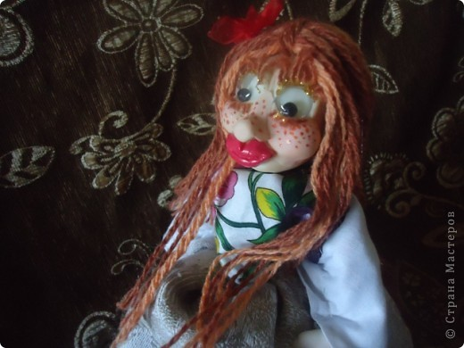 кукла веснушка-домовушка! хи-хи-хи вот такая я чудная)))) фото 4