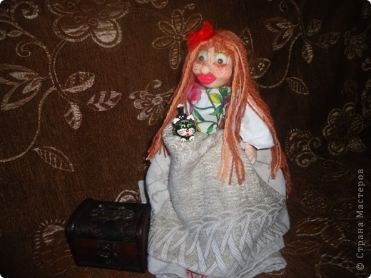 кукла веснушка-домовушка! хи-хи-хи вот такая я чудная)))) фото 5