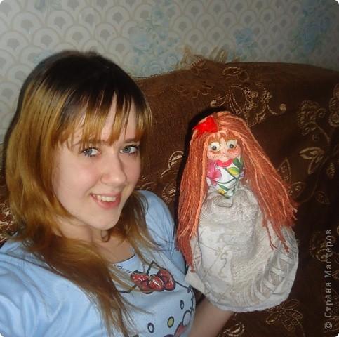 кукла веснушка-домовушка! хи-хи-хи вот такая я чудная)))) фото 6