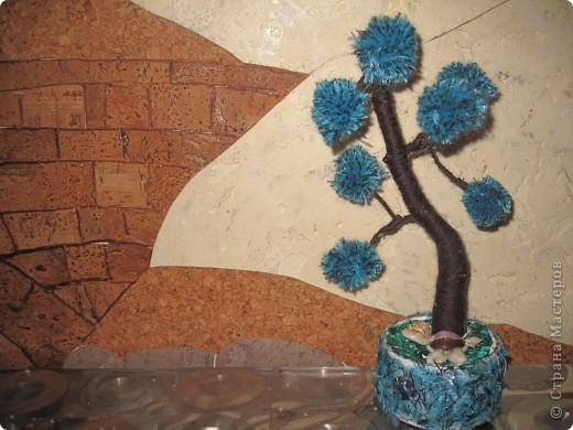 Помпонное  дерево и черепашка-мыслитель.  фото 2