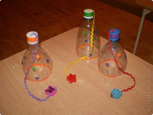 Необходимость в использование пластиковых бутылок мы нашли в физкультурном оборудовании фото 2