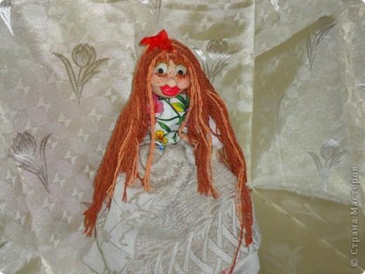 кукла веснушка-домовушка! хи-хи-хи вот такая я чудная)))) фото 2