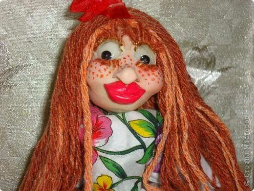 кукла веснушка-домовушка! хи-хи-хи вот такая я чудная)))) фото 1