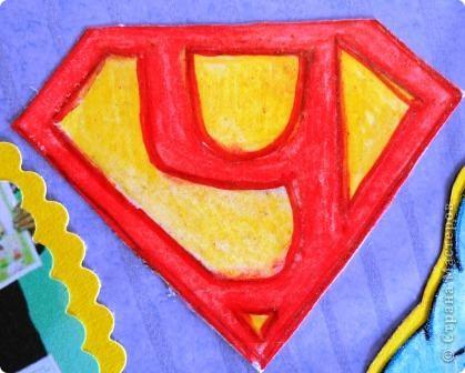 Когда нам выпла день супермена, мы с Уралом решили сделать своеборазный коллаж. Кто из мальчиков не мечтает стать отважным героем или суперменом? фото 6