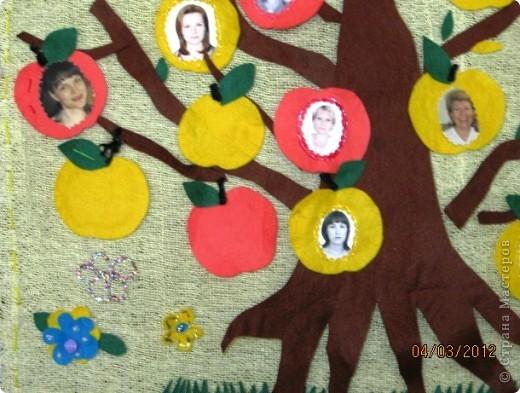 Вот такое дерево удалось вырастить детям и педагогам в преддверии 8 Марта фото 2