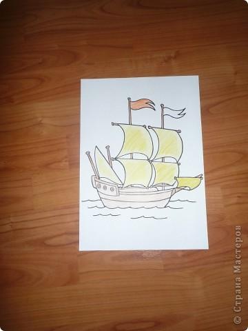 Кораблик и Открытка. фото 4