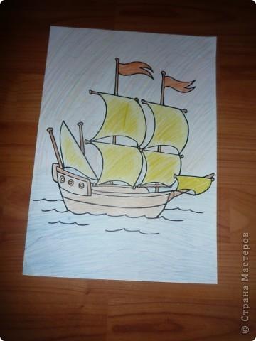Кораблик и Открытка. фото 2