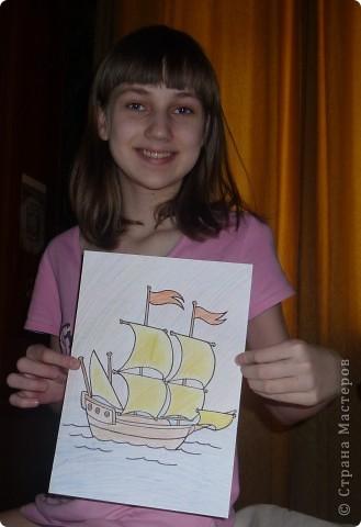Кораблик и Открытка. фото 7
