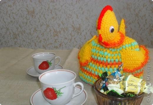 Курочка (грелка на чайник) фото 2