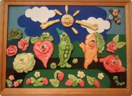 """18 мая - День грядки. Панно """"Щедрая грядка"""". фото 1"""