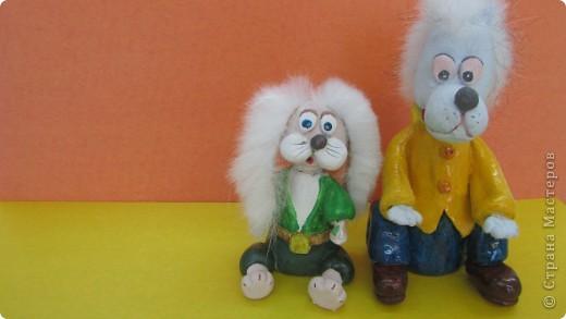 Наши герои- Волк и Заяц. фото 1