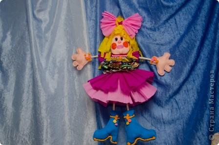 Предлагаю вашему вниманию очаровательную, веселую и гламурную девчонку Алису. Веселая и задорная Алиса украсит ваш интерьер, поднимет настроение и будет радовать всех детей.   фото 2
