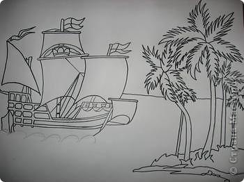 Старинные корабли... Благодаря Петру I в России стало развиваться кораблестроение.  На какое-то время я погрузилась в прошлое. Вот паруса, мудрый капитан, океан, дальние страны.  фото 3