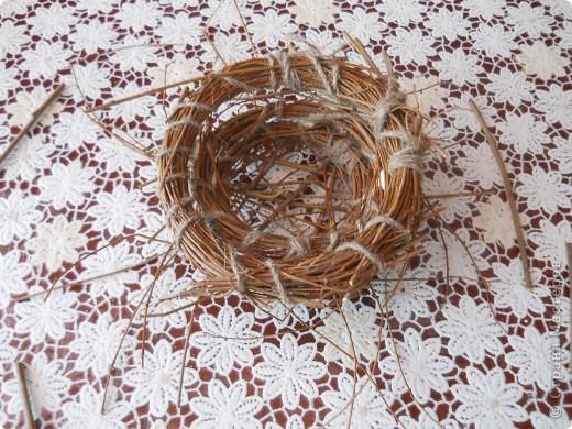 Вот такое гнездо получилось фото 9