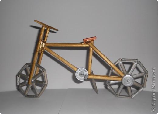 12 мая в Нидерландах празднуется день велосипедиста. именно к этому празднику приурочена наша работа - деревянная модель велосипеда. фото 1