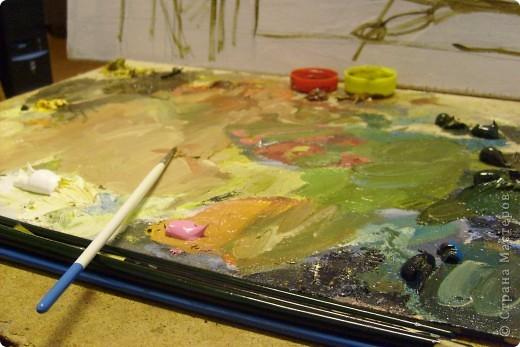 """""""Простор"""" Представляю вам работу, выполненную в моем любимом жанре - жанре пейзажа! фото 2"""