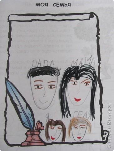 """Дружную цветочную семейку решили мы сделать с девочками из кружка """"Бумажные фантазии"""". фото 5"""