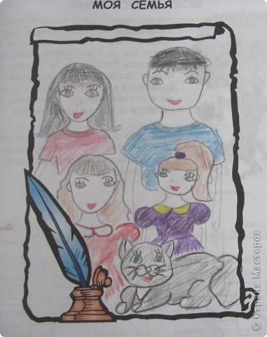"""Дружную цветочную семейку решили мы сделать с девочками из кружка """"Бумажные фантазии"""". фото 4"""