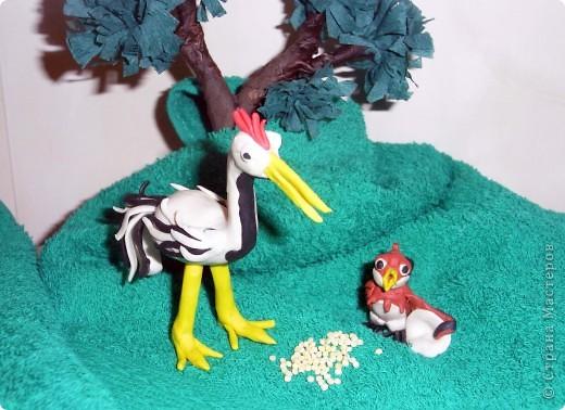 """Я решила продемонстрировать день мультипликации в виде известного мультфильма  """"Где обедал воробей?"""" по  стихотворению С. Маршака. Так очень быстро можно выучить стихотворение и узнать какие звери живут в зоопарке и что они едят.  фото 6"""