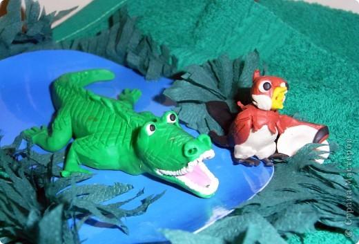 """Я решила продемонстрировать день мультипликации в виде известного мультфильма  """"Где обедал воробей?"""" по  стихотворению С. Маршака. Так очень быстро можно выучить стихотворение и узнать какие звери живут в зоопарке и что они едят.  фото 8"""