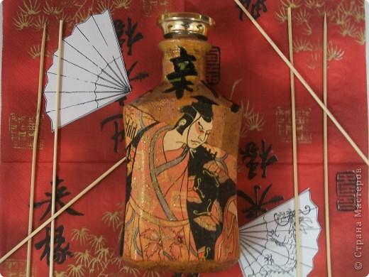 Бутылочка сделана для любимой мамочке (лицевая сторона)по заказу (сама выбирала тему). фото 7