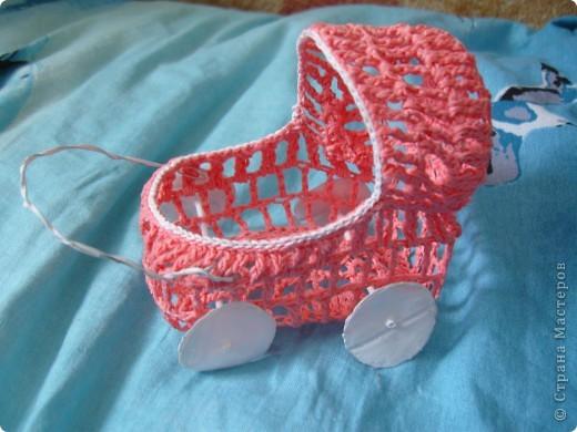 18 июня - День детской коляски. К этому празднику я подготовила вот такую корзиночку. фото 4