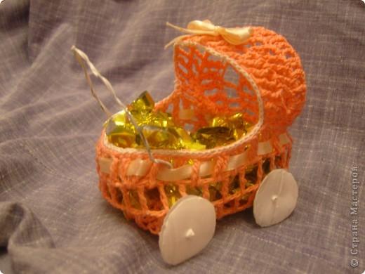 18 июня - День детской коляски. К этому празднику я подготовила вот такую корзиночку. фото 1