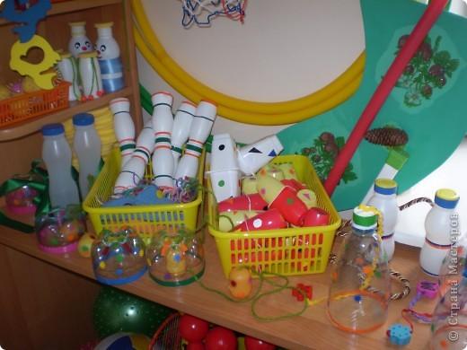 Необходимость в использование пластиковых бутылок мы нашли в физкультурном оборудовании фото 1