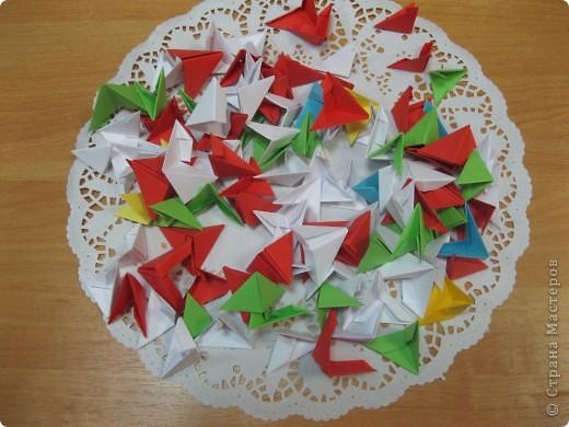 Все знают неоспоримый факт, что бумагу изобрели в Китае. По существующим мнениям и модульное оригами тоже родом из этой волшебной страны. фото 2