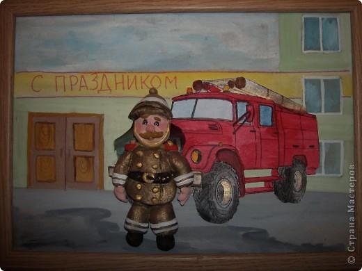 Поделки с днем пожарного 818