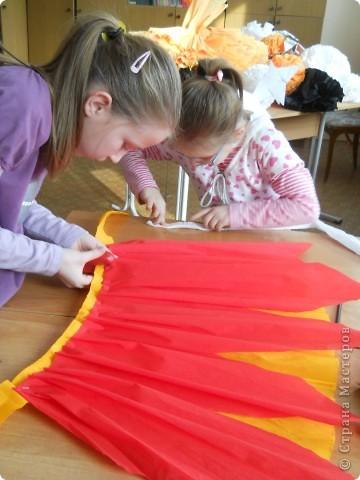Платья из бумаги для детей
